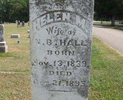 Helen Melissa <I>Bowe</I> Hall
