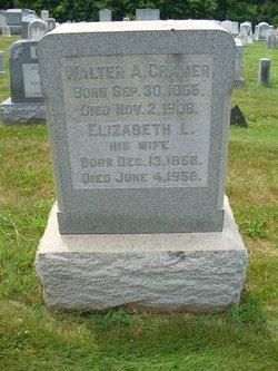 Elizabeth <I>Lyons</I> Cramer
