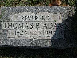 Rev Thomas Benjamin Adams
