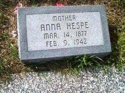 Anna <I>Loseke</I> Hespe