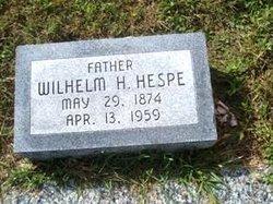 """Wilhelm Heinrich """"William Henry"""" Hespe"""