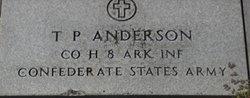 T P Anderson
