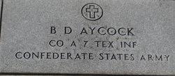 B F Aycock