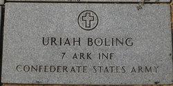 Uriah Bolin