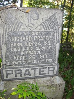 PVT Richard Franklin Prater
