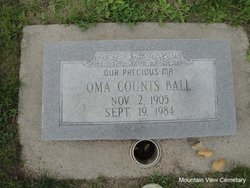 Oma <I>Counts</I> Ball