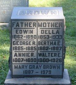 """Adele """"Della"""" <I>Grady</I> Brown"""