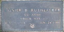 Ranier D. Rutherford