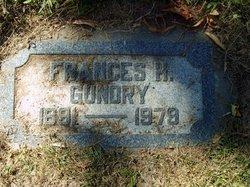 Frances H Gundry