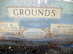 Minnie Lorena <I>Goolsby</I> Grounds