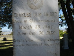 Charles Ulm Snider