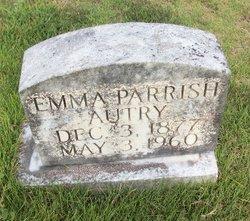 Emma <I>Parrish</I> Autry