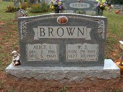 Alice Irene <I>Morgan</I> Brown