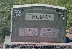 Sadie Alice <I>Brenneman</I> Thomas