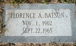 Florence A Batson
