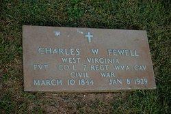 "PVT Charles Washington ""Charley"" Fewell"