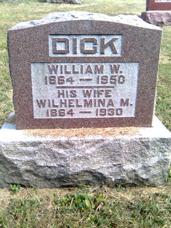 Wilhelmina M <I>Dietsch</I> Dick