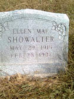Ellen Mae <I>Cowin</I> Showalter