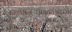 Bertha Genora <I>Matson</I> Gunderson