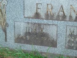 Ida K <I>Dotson</I> Franz