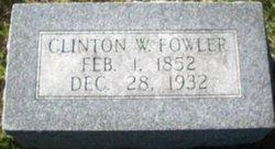 Clinton Wells Fowler, Sr
