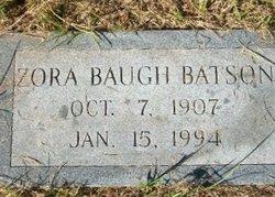 Zora <I>Baugh</I> Batson