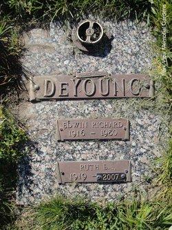 Ruth Eulelia <I>Perkins</I> DeYoung