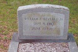 William E Beverly, Jr