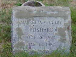 Marretta M. <I>Colby</I> Pushard