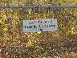 Cam Crowell Family Cemetery