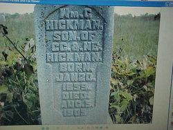 """William Granville """"Will"""" Hickman"""