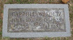 "Carroll William ""Sonny"" Foltz"