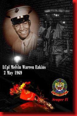 LCpl Melvin Warren Eakins