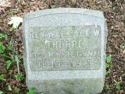 Rev Wallace Walter Thorpe