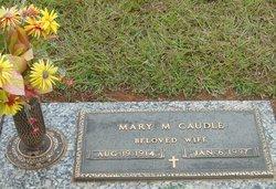 Mary Alexander <I>Matthews</I> Caudle