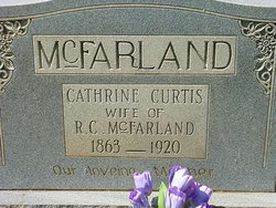 Catherine <I>Curtis</I> McFarland