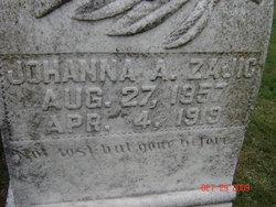 Johanna A. <I>Sekavec</I> Zajic