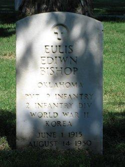 Pvt Eulis Edwin Bishop