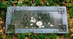Alice Alexandria <I>Sharp</I> Leaverton