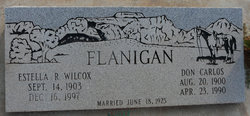 Don Carlos Flanigan
