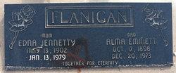 Edna Jennetty <I>Wilcox</I> Flanigan