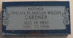 Thelma <I>Flanigan Wilcox</I> Gardner