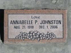 Annabelle Pearl <I>Obershaw</I> Johnston