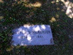 Chester Bartlett Nickerson