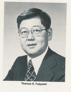 """Thomas Sadako """"Tom"""" Fujiyoshi"""