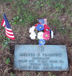 SSGT Melvin C Fearnow