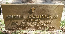 PFC Charlie Dominick, Jr