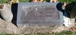 "Charles Omar ""Charley"" Adams"