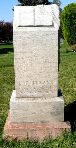 Jane <I>Lunn</I> Wood