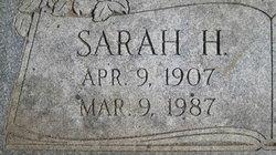 Sarah <I>Hinman</I> Hill